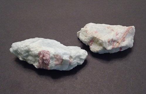 Aquamarine with Pink Tourmaline