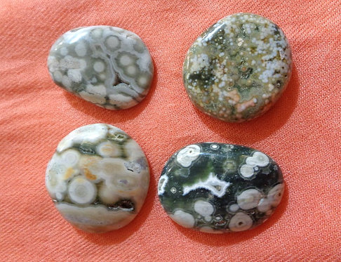 Ocean Jasper Palm Stones