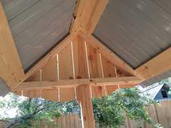 Крыша из профлиста.2