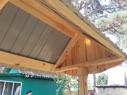 Крыша из профлиста.1
