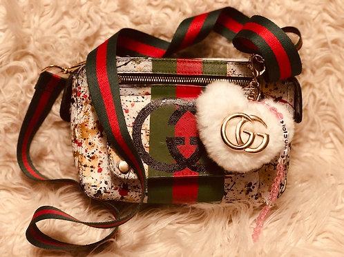 Custom Painted Handbag