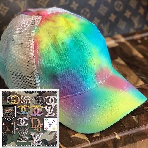 Tie Dye Mesh Back Hat