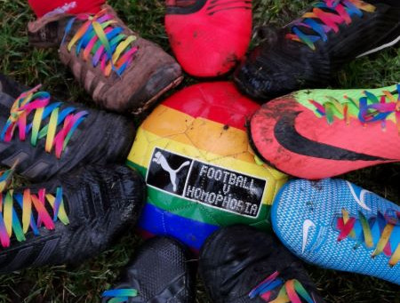 United teams make a stand against homophobia