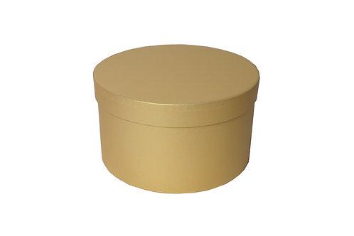 Sofie č.2 průměr 26 výška 15 cm zlatá perláž