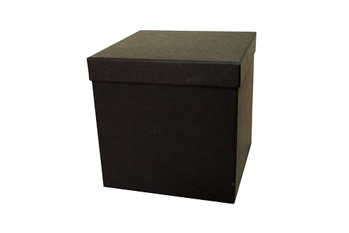 Tina 20 / 20x20x20 cm černá mat