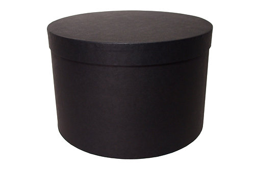 Sofie č.1 průměr 30 v 20 cm černá mat