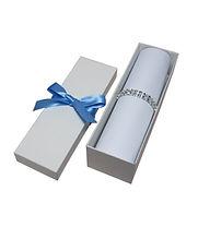 krabička na svatební oznámení samoskladn