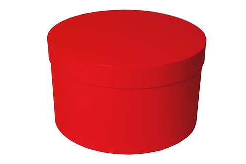 Sofie č.1 průměr 30 v 20 cm červená mat