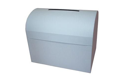 Diana truhla 28x19,5x23 cm světle modrá mat