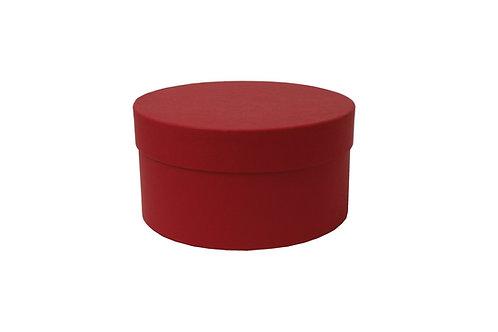 Sofie č.3 průměr 20 v 10 cm tmavě červená Surbalin