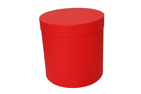 Sofie č.3 průměr 20 v 20 cm červená mat
