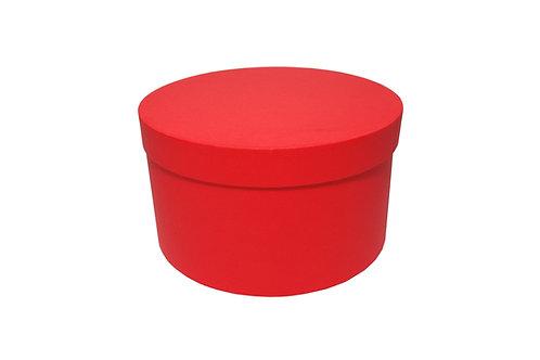 Sofie č.2 průměr 26 výška 15 cm červená mat