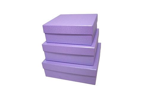Karlička 3 ks lila perláž
