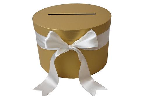 Pokladna Angela zlatá perláž 30 v 20 cm