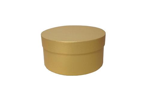 Sofie č.3 průměr 20 výška 10 cm zlatá perláž