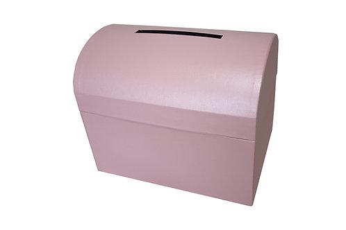 Diana truhla 28x19,5x23 cm světle růžová perláž