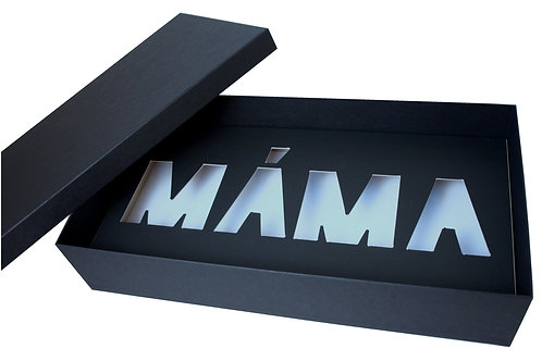 """Krabice """"MÁMA"""" 50x26,5x10 cm"""