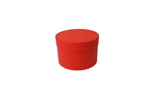 Sofie č.4 průměr 15 v 10 cm červená mat