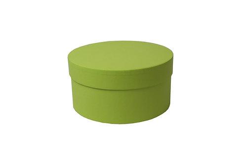 Sofie č.3 průměr 20 výška 10 cm světle zelená mat