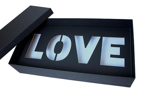 "Krabice ""LOVE"" 50x26,5x10 cm"