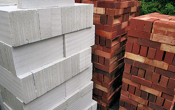 bricks and blocks.