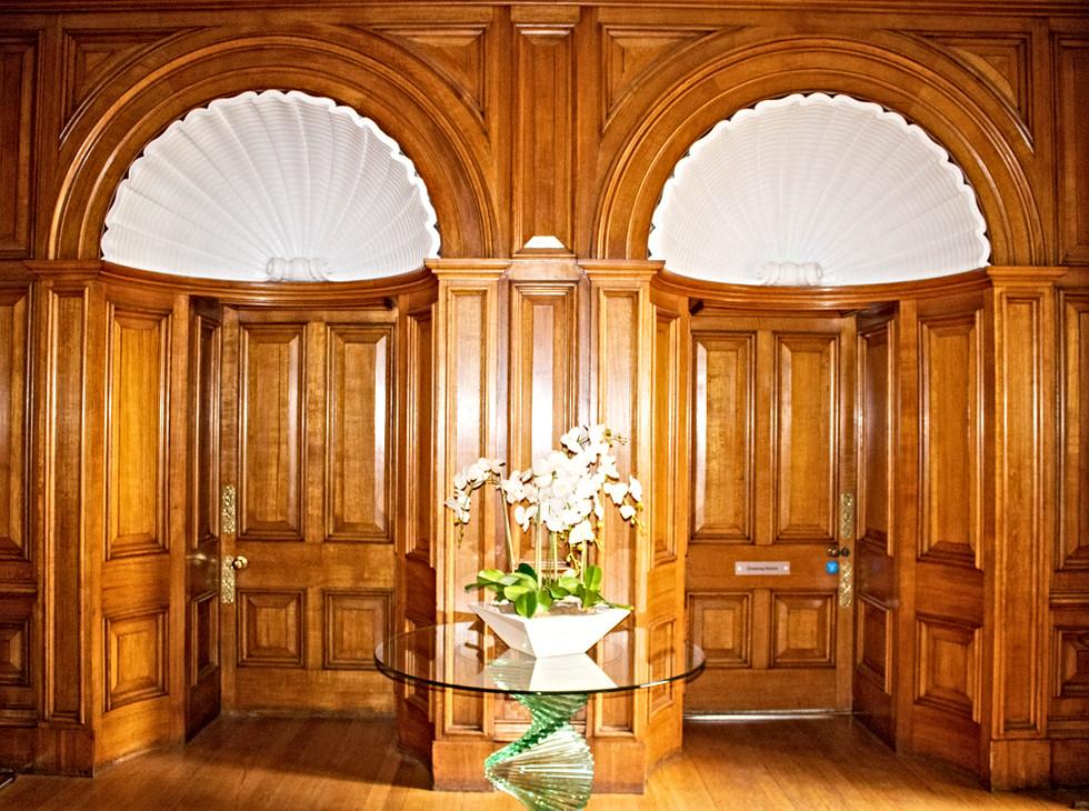 Ceremony room Oak Doors & Panelling.