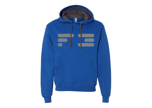 For3 Old F3 Hoodie - Grey Logo