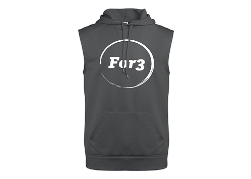 For3 Serkel Sleeveless Hoodie