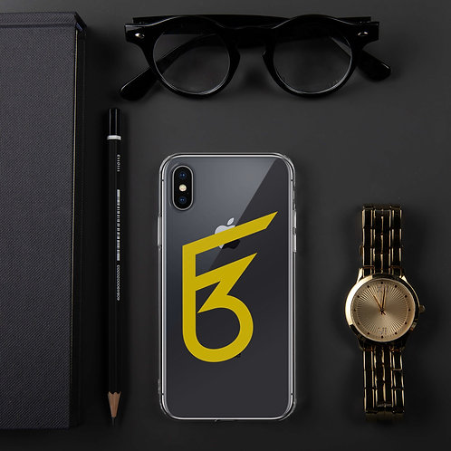 F3 Signature Clear Case For IPhone
