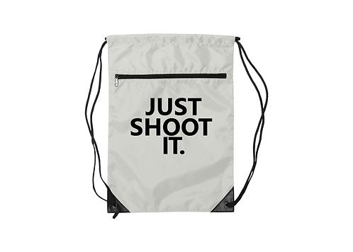 For3 Nylon Zippered Drawstring JSI Backpack