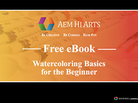 Watercolor greatness is now within your reach!