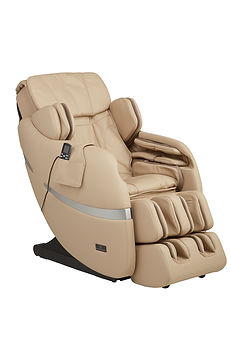 Positive Posture massage chair Texas, Biege_Brio_45-angle.jpg