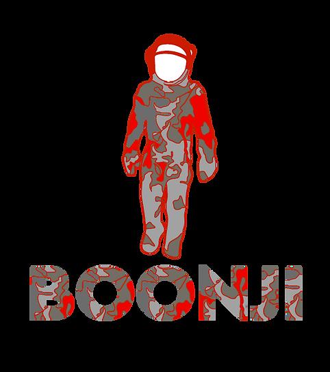 Boonji logo - spaceman