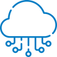 cloud-hosted icon