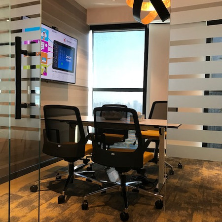 Trend Micro Zoom Integrating Meeting Room at Swiss Tower