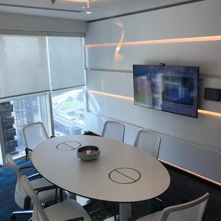 Trend Micro Sifi white office in Swiss Tower, JLT, Dubai