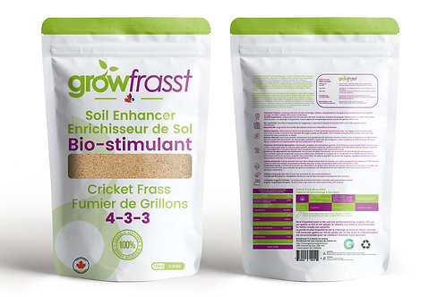 GrowFrasst | 100% Organic Bio-Stimulant & Soil Enhancer | 3.3 LBS (1.5 KG)
