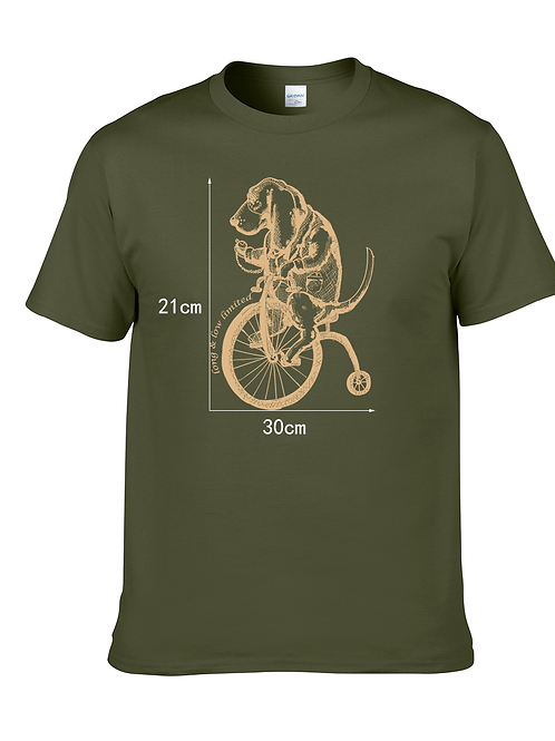 "T-Shirt - ""High Wheel"" Design"