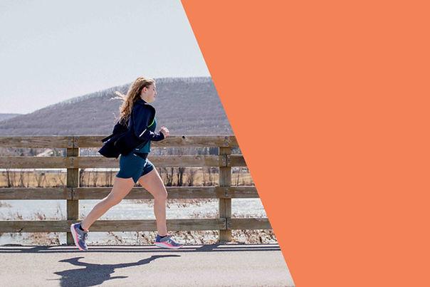 Elite Feet woman running outside   Montoursville
