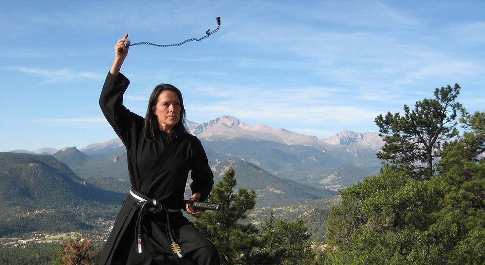 women's self-defense, self-protection, ninja, nijutsu, mma, juijutsu, martial arts, self-improvement, empowerment