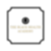 Transparent black health academy logo.pn