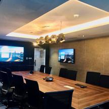 Trend Micro Office Boardroom in Swiss Tower, JLT, Dubai