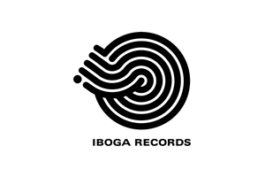 iboga records black on white stroke_simp
