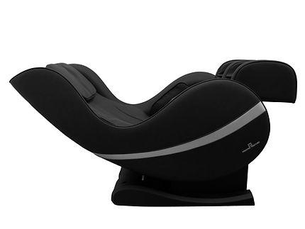 Positive Posture Massage Chair Texas, Sol_black_Side_reclined_isolated.jpg