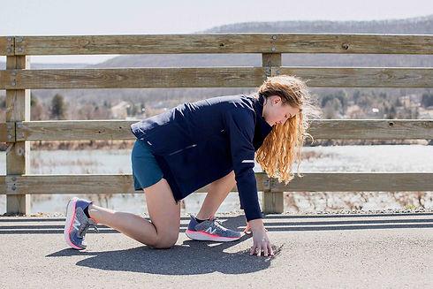 Woman set to run | Montoursville | Elite Feet