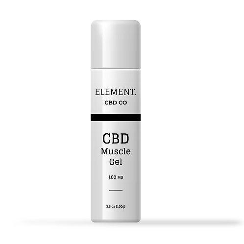 Premium HEMP CBD Muscle Gel - 100mg