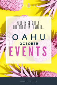 OAHU October Family Events