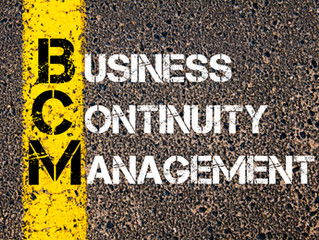 ISO 22301 Business Continuity Management Standard Revision