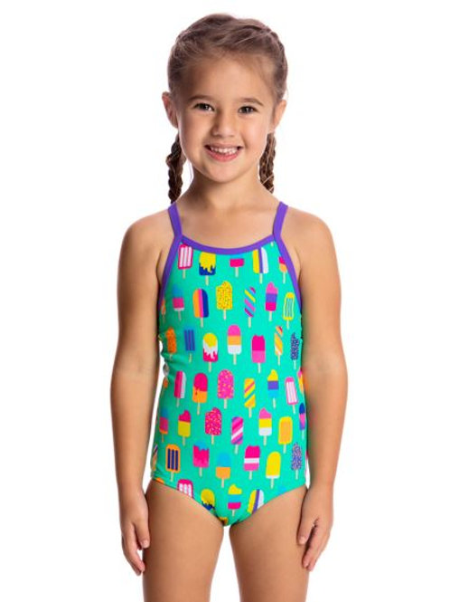 Funkita Popsicle Parade Toddler Girls One Piece Swimsuit
