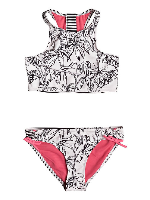 Roxy Girls California Diary Crop Top Set